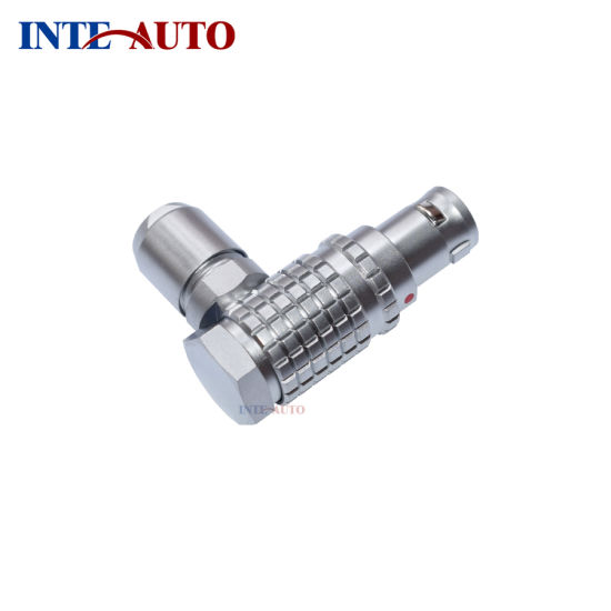 China Right Angle Metal Push Pull Male Connector Substitute Lemos ...