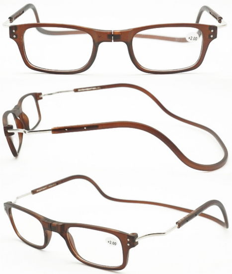 63f643d779a Hang Neck Cheap New Trendy Wholesale Unisex Clic Magnetic Split Reading  Glasses Hang on Neck Reading Glasses