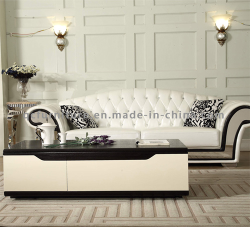 Most Popular New Design Wooden Coffee Table with Function pictures & photos