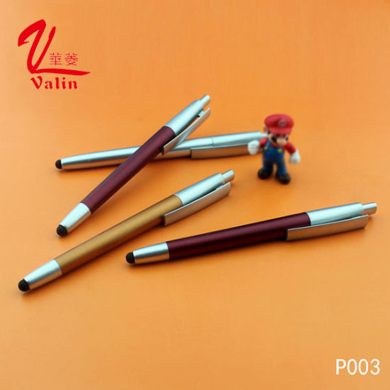 New Arrival Advertising Ball Pen Promotional Plastic Pen for School Supply pictures & photos