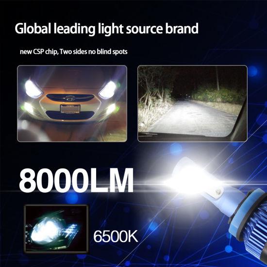 China 36w Blue Color Headlight Bulb Brightness Car High Beam Led