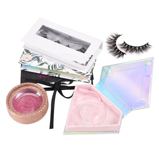 12245818c14 Create Your Own Brand Free Eyelashes Samples Wholesale 3D Mink Empty Eyelashes  Package Box for Lashes