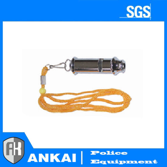 Police Equipment Metal Whistle for Military (BSDJD-1) pictures & photos