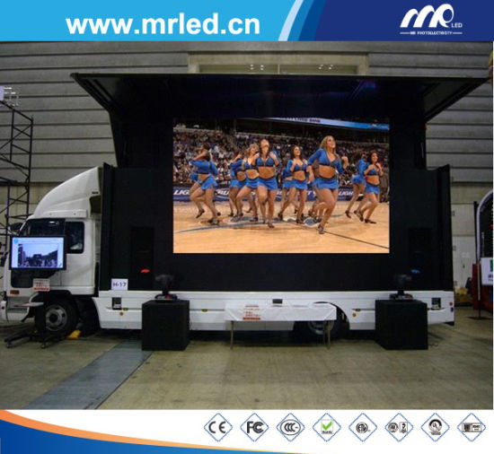 Mrled P16 Outdoor Mobile LED Display Screen Sale (IP65)
