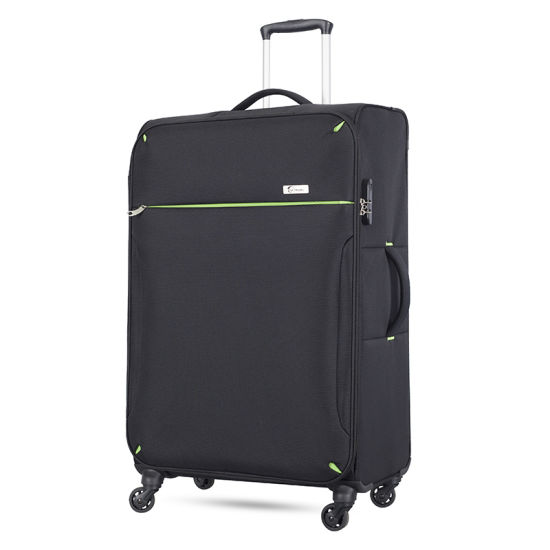 Lightweight 4 Wheels EVA Trolley Travel 3 Piece Luggage Sets with 20 24 28 Inches Suitcase pictures & photos