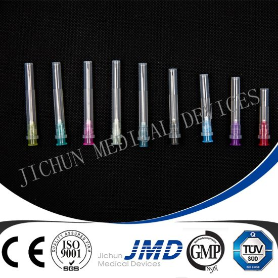 Injection Medical Hypodermic Disposable Syringe Needle (15G-31G) pictures & photos