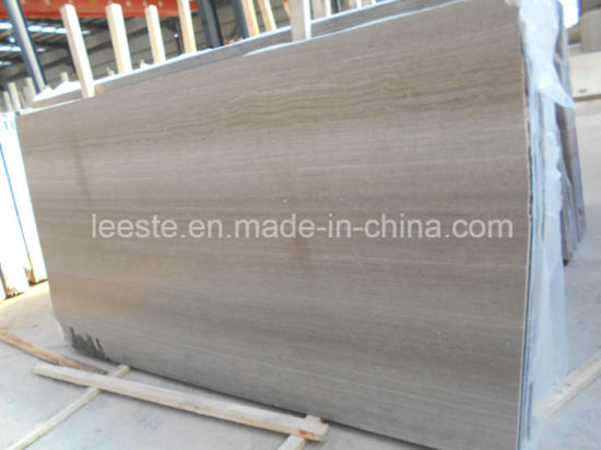Good Quality Chinese Natural Timber White Marble Tile for Flooring and Wall Cladding pictures & photos