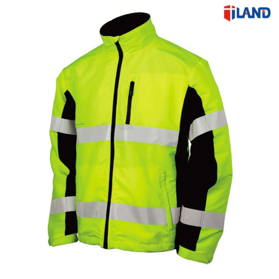 3 Layer Hi-Visibility Reflective Softshell Jacket Coat, Waterproof and Breathable pictures & photos