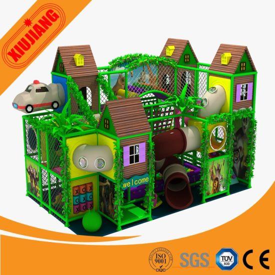 China Preschool Children′s Playground, Indoor Baby Games Playground ...