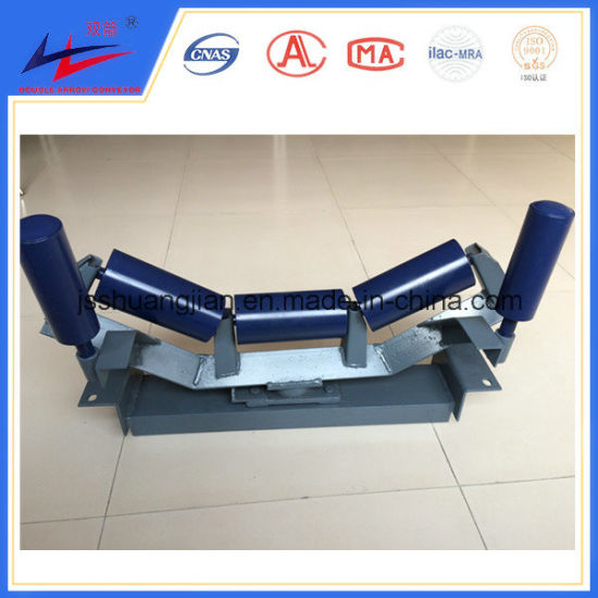 Carrier Roller Guide Roller Self-Aligning Roller Idler Group for Conveyor System pictures & photos