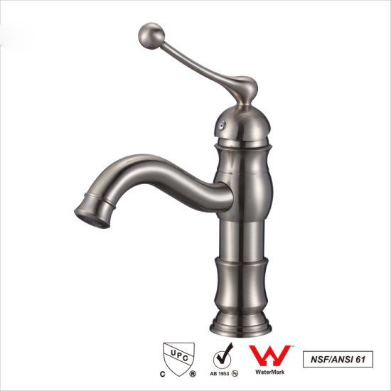 China Sanitary Bathroom Cabinet Basin Water Faucet Wash Sink