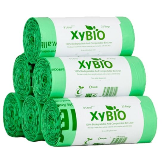 100 Biodegradable Garbage Bags Compole