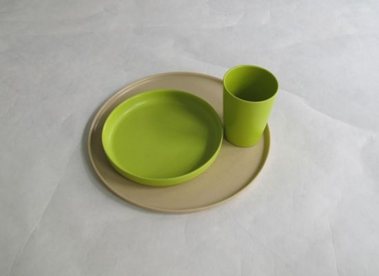 Eco Bamboo Fiber Tableware Combination Series (BC-CS1023) pictures & photos