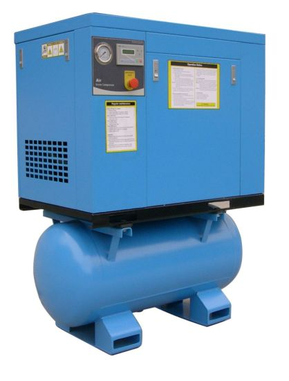 Screw Air Compressor with Dry on Tank pictures & photos