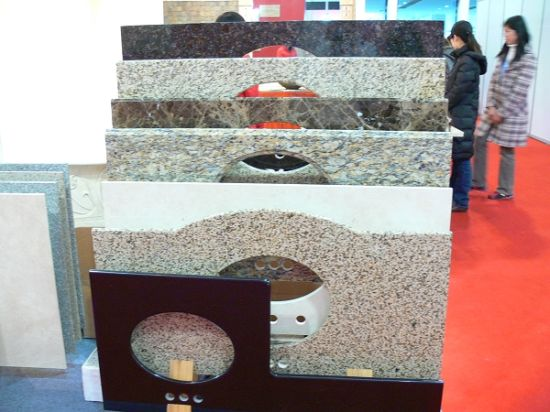 Natural Granite Countertop & Vanity Top for Bathroom pictures & photos