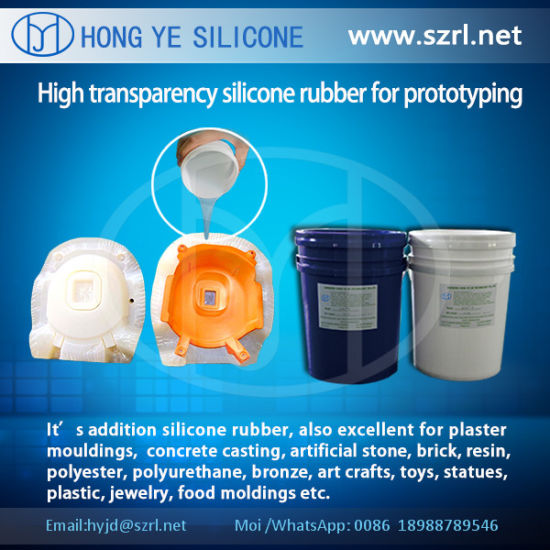 Translucent Rapid Prototyping Silicon Rubber pictures & photos