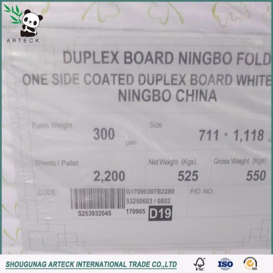 Good Quality White Fbb Paper Board pictures & photos