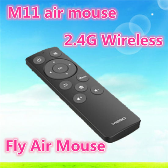 Best Selling Super M11 Air Mouse 2.4G Wireless Keyboard and Mouse with Chocolate Keyboard for TV Box