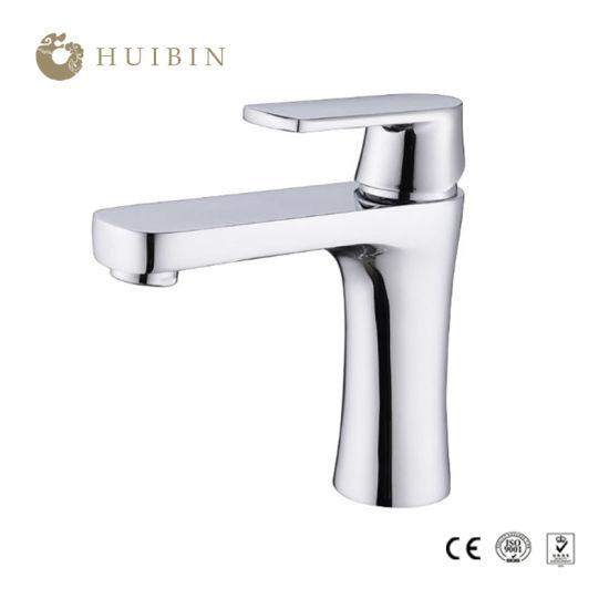 China European Style Full Brass Single Hole Bathroom Faucet China