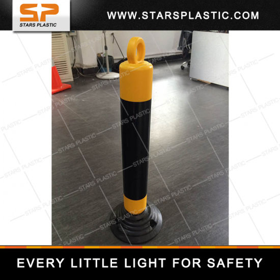 80cm Flexible Delineator Post Reflective Plastic PE Spring Warning Post pictures & photos