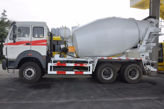 China Construction Vehicle Beiben Cement Concrete Mixer Truck for Sale pictures & photos