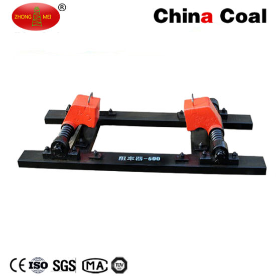 Pneumatic Double Track Mine Car Stopper pictures & photos