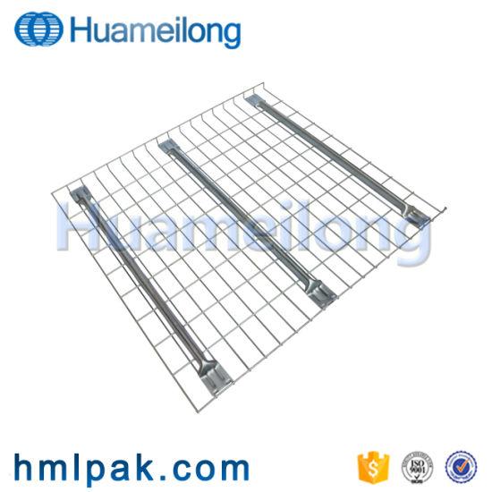 China Storage Galvanized Standard Size Waterfall Pallet Rack Wire ...