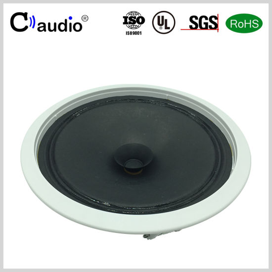 6.5 Inch Mini Loud PRO Audio Professional Home Theater Active Ceiling Speaker with Paper Cone for PA