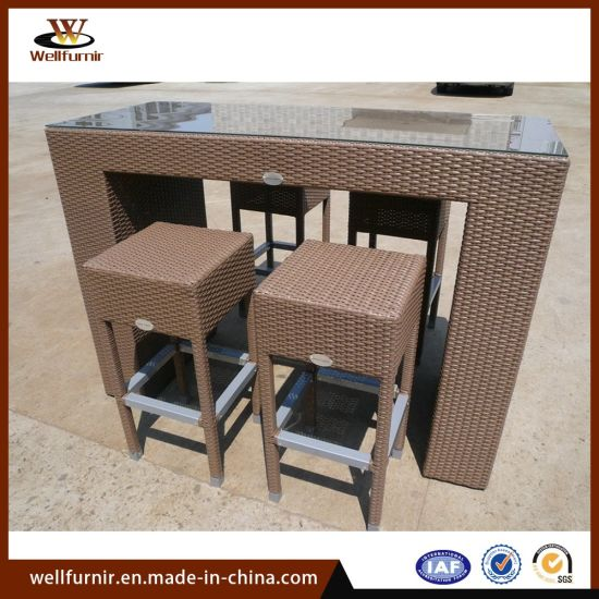 Fine Rattan Bar Stools Rattan Counter Height Stools Chair Bar Table Set Evergreenethics Interior Chair Design Evergreenethicsorg