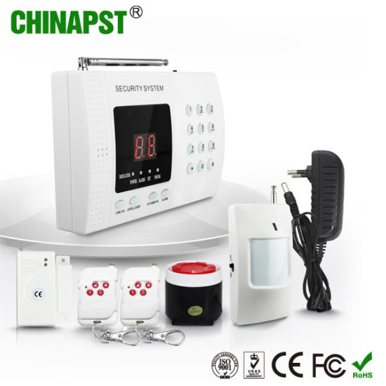 Cheapest Wireless Telephone Intelligent Alarm System with LED Display (PST-TEL99E)