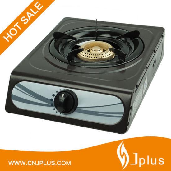 Single Burner No-Stick Gas Cooker Jp-Gc101t