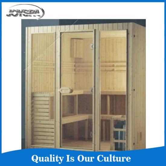 Hot Selling Infrared Sauna Room Canada Hemlock 6 People Sauna Cabin