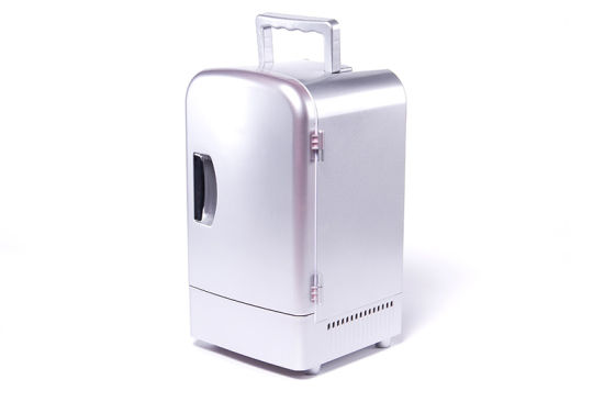 Portable Mini Fridge 4liter DC12V, AC100-240V with Cooling and Warming for Car, Office, or Home Application pictures & photos
