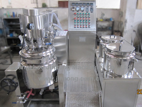 Jinzong Machinery Jrka Series Vacuum Homogenizer Emulsifying Blender Machine Supplier pictures & photos