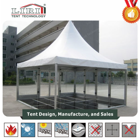 Waterproof UV Pagoda Tent 5X5m for Weding Parties pictures & photos