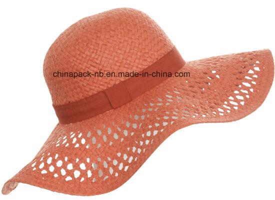 5c5e26a3 China Wide Brim Paper Beach Hats (CPA_90001) - China Wide Brim Beach ...