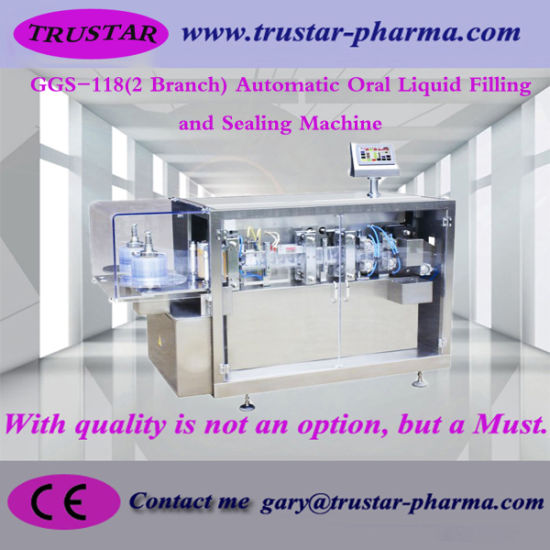 Liquid Filling and Sealing Machine for Pharmaceutical Products
