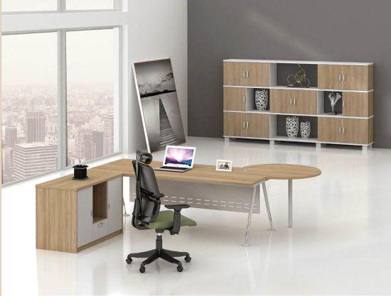 Unique Design Mfc Office Executive Desk With Left Return Bs B01
