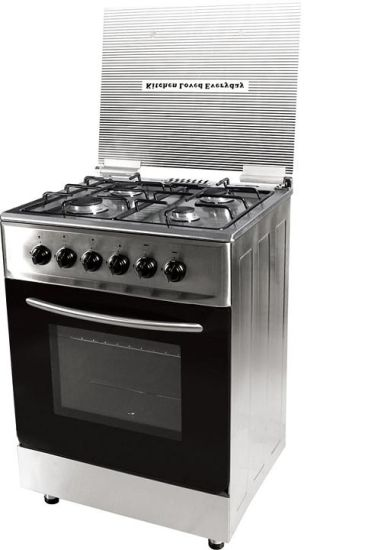 4 Burner Stainless Steel Free Standing Gas Oven