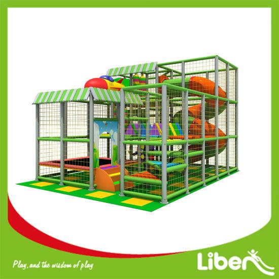 China EU Standard Indoor Wooden Playground Slide - China Indoor ...