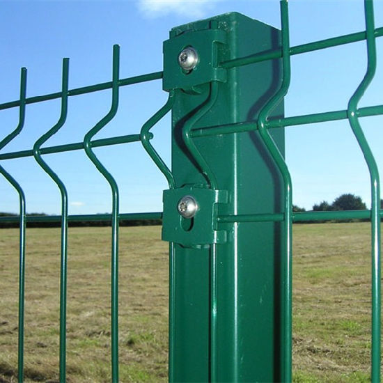 China Wholesale PVC Coated 3D Wire Mesh Panel Fence (WMPF)