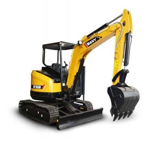 China Sany Sy35u 3 78 Tons Mini Garden Excavator Price for India