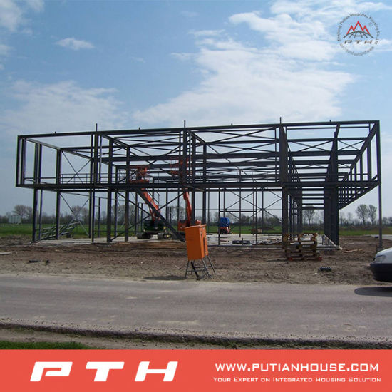 Ce&BV Steel Structure Building as Warehouse/Workshop/Garage/Factory pictures & photos