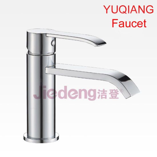 China New European Style Brass Bathroom Mixer Faucet with Water ...