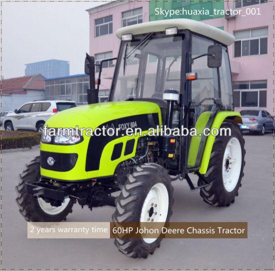 4WD 50HP 55HP 60HP Farm Wheeled Tractor