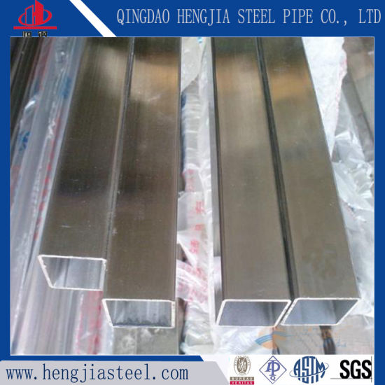 Competitive Price 201 304 Thin Wall Stainless Steel Square Tube & China Competitive Price 201 304 Thin Wall Stainless Steel Square ...