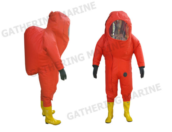 Heavy Type Chemical Protective Suits (including air respirator)