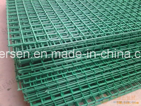 China Black PVC Coated Galvanized Welded Wire Mesh - China Welded ...