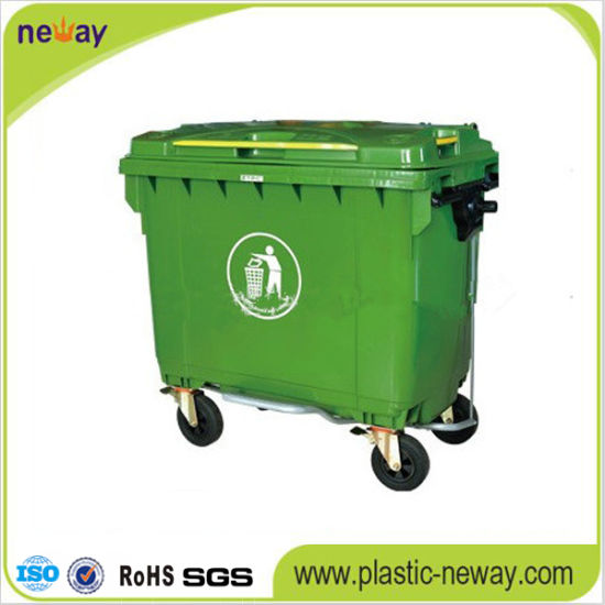 660L Eco-Friendly Plastic Outdoor Waste Bin pictures & photos