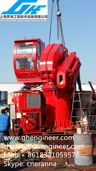 Foldable Boom Marine Deck Offshore Crane BV pictures & photos